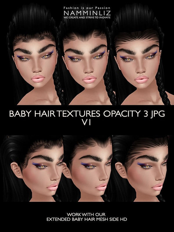 3 Baby hair Opacity JPG (Work only with our Extended Mesh link below)