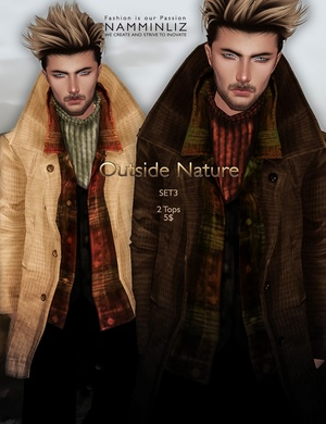 Outside Nature 3 SET imvu JPG Textures 2Tops