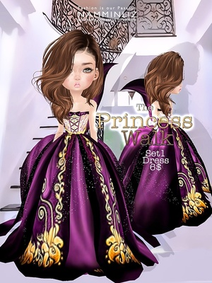 The Princess walk SET1 imvu Texture JPG delure