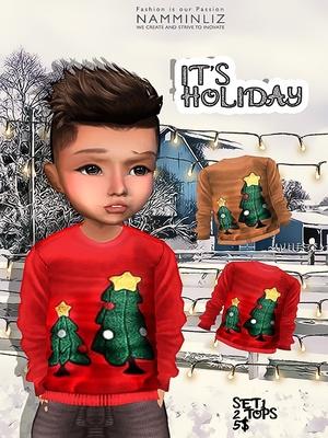 It's Holiday Set1 two tops imvu textures JPG NAMMINLIZ life sale