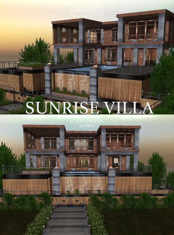 Sunrise Villa 30 Textures JPG 5 CHKN