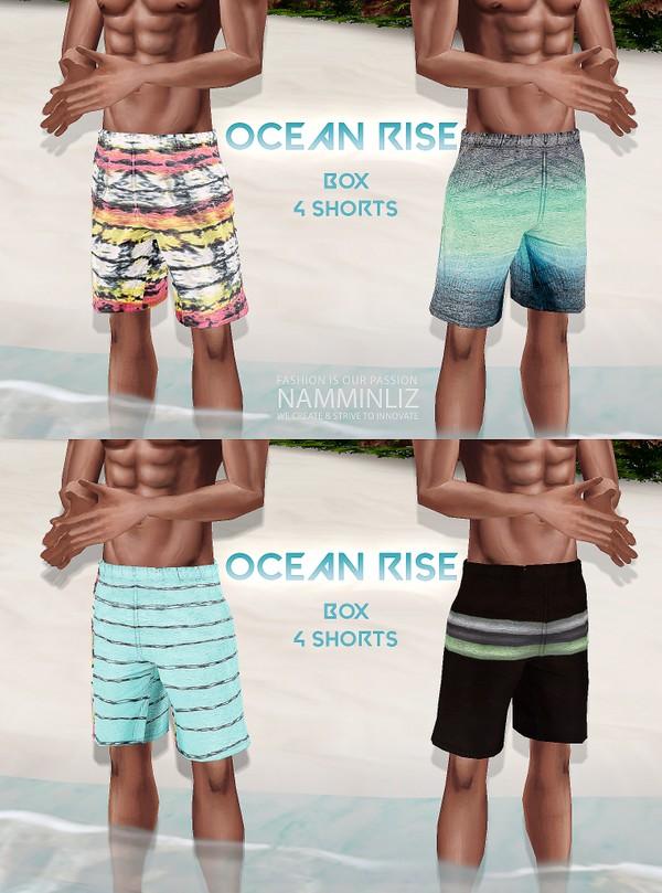 Ocean Rise Box V2 - 4 Short Textures JPG 4 CHKN