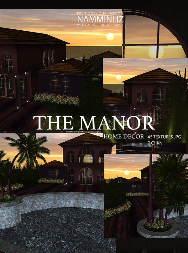 The Manor Home decor 45 Textures JPG 7 CHKN