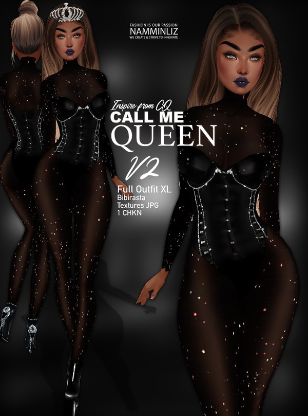 CMe Queen V2 Full Outfit XL bibirasta Textures JPG 1 CHKN Limited 3 clients only