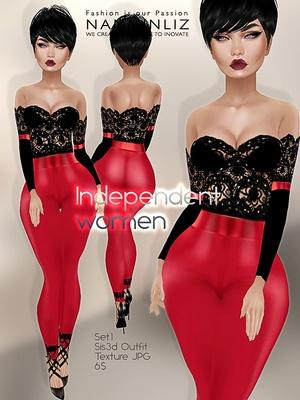 Independent women set 1 imvu outfit sis3d JPG