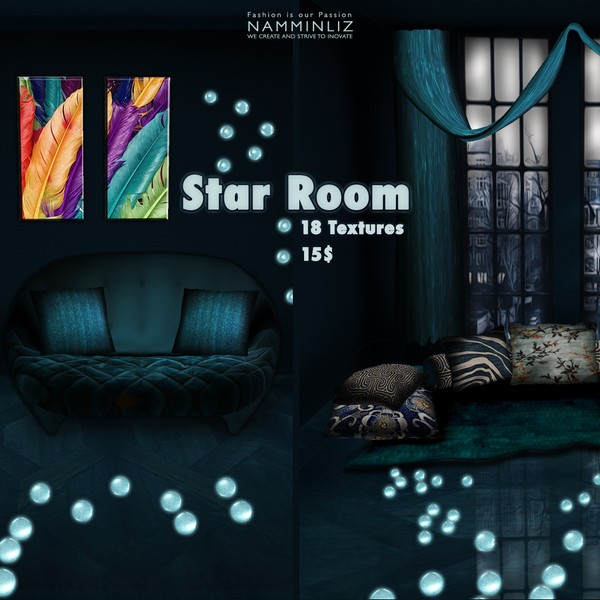 Star Room 18 Textures Home Decor