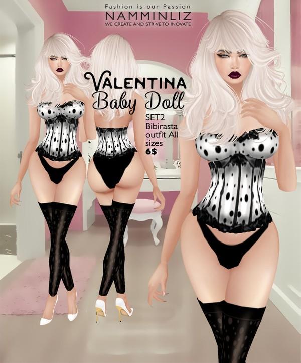 Valentina Baby Doll SET2 imvu Bibirasta