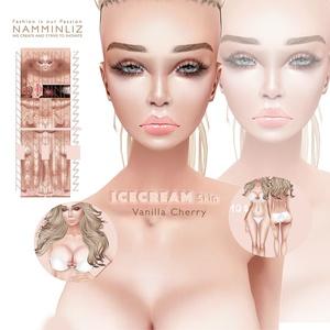 IceCream • Vanilla Cherry Skin2