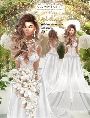 Bridal combo 1 •imvu Bibirasta dress all sizes