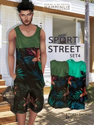 Sport Street Full SET 4