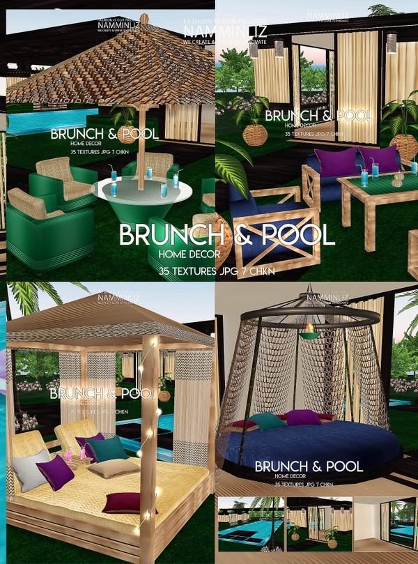 Brunch & Pool Home decor 35 Textures JPG 7 CHKN