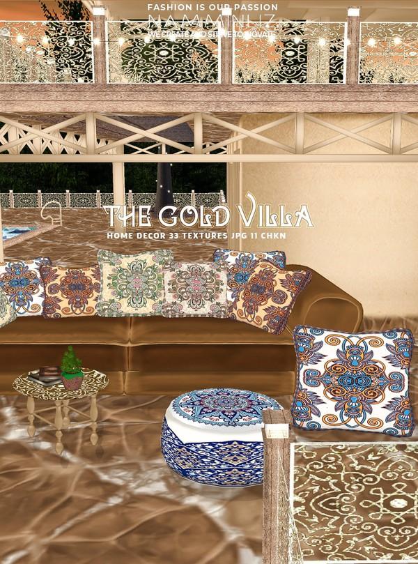 The Gold Villa Home decor 33 Textures JPG 11 CHKN