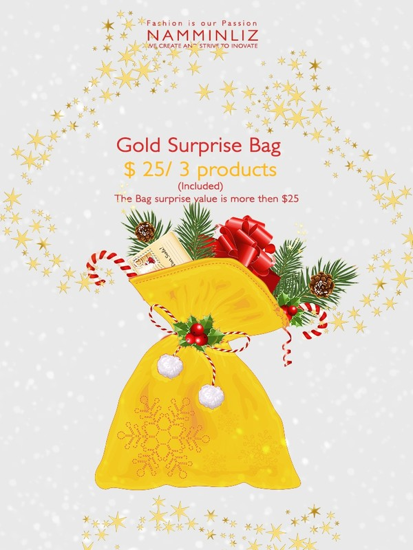 Gold Surprise Bag 3 products ♥
