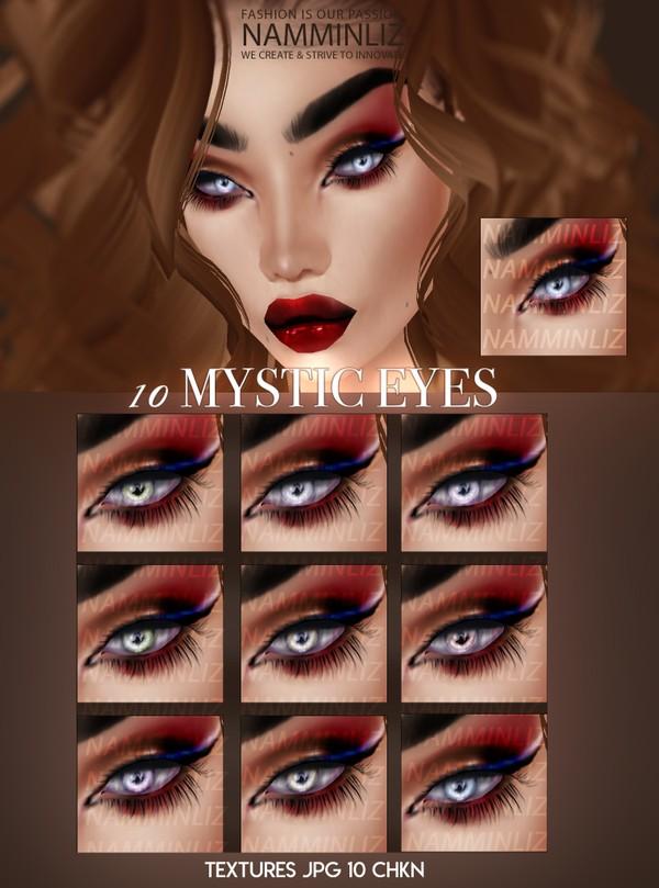 10 Mystic Eyes Textures JPG 10 CHKN