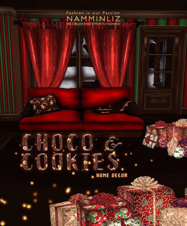 Choco & Cookies imvu Home decor 26 Textures PNG