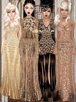 Sparkle Full combo imvu Bibirasta dress all sizes texture JPG