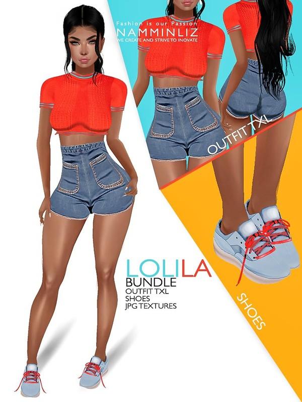 Lolila Bundle JPG Textures Outfit TXL Shoes