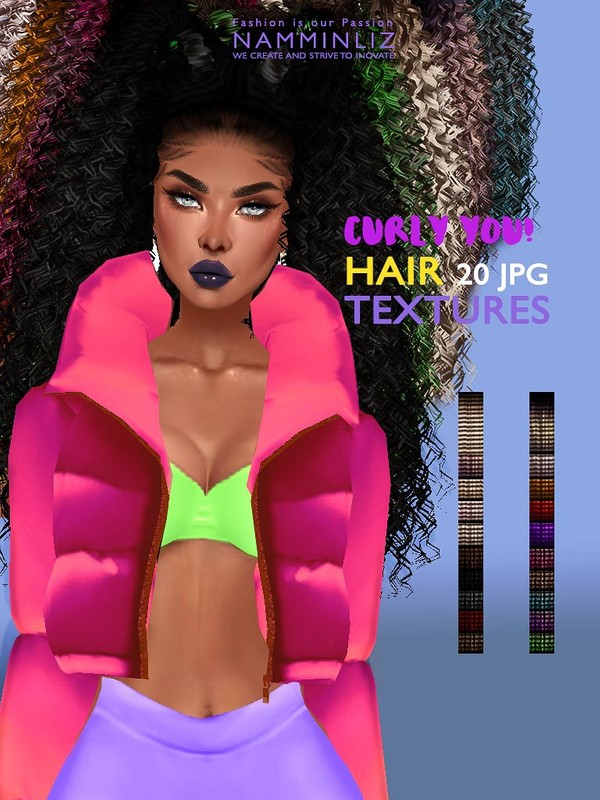 Curly You Hair 20 Textures JPG