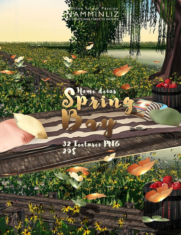 Spring Bay imvu Home decor 32Textures PNG Limited to 5 person only