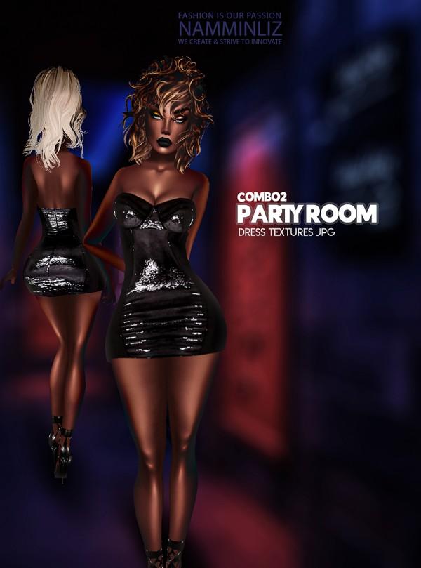 Party Room combo 2 Textures JPG 1 CHKN Dress