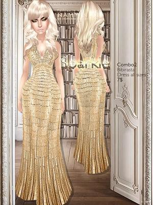 Sparkle combo2 imvu Bibirasta dress all sizes texture JPG
