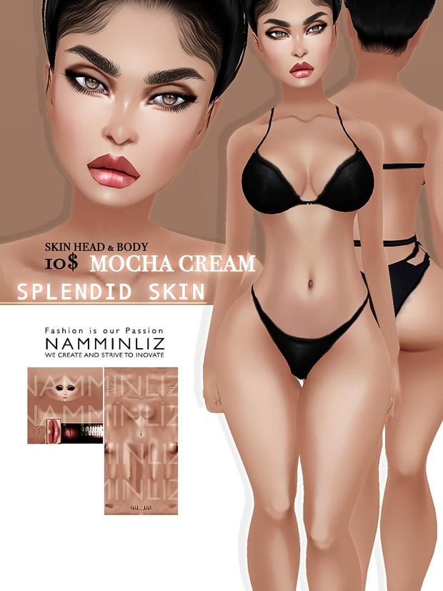Mocha Cream Splendid Skin imvu Texture JPG