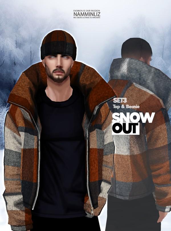 Snow Out SET3 Tops Beanie Textures JPG 2 CHKN