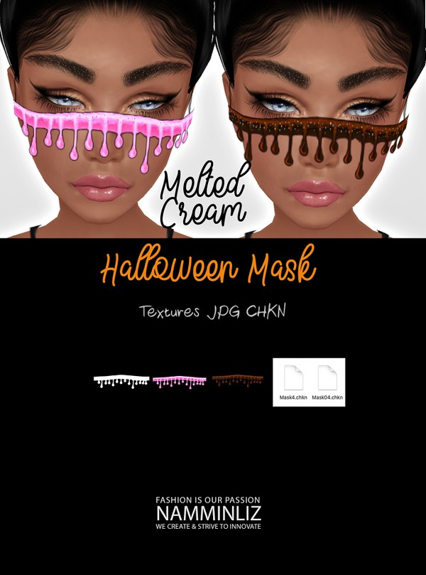 Halloween Melted cream Textures JPG 2 CHKN