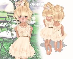 Wedding Little princesses set 1  Dress