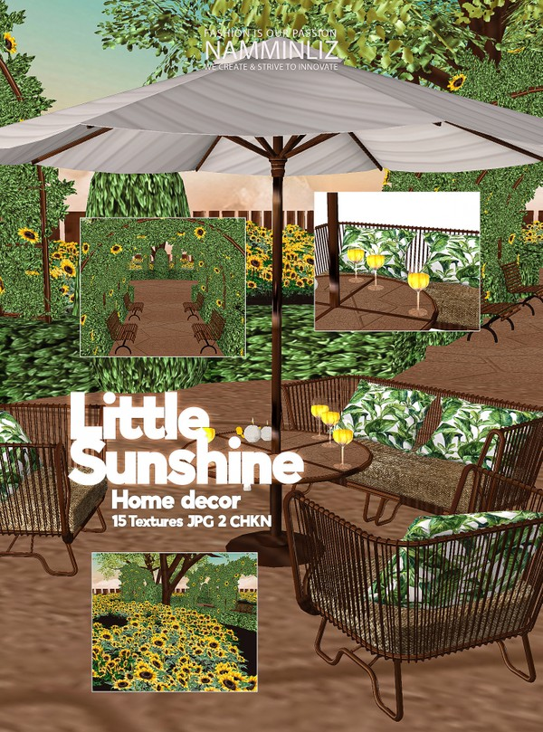 Little Sunshine Home decor 15 Textures JPG 2 CHKN