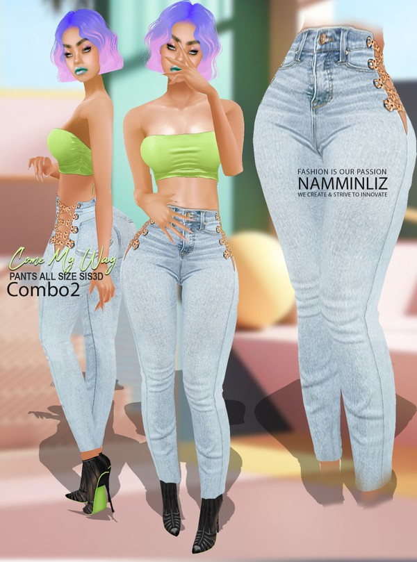 Come My Way Combo 2 Pants Textures PNG CHKN ^  -  ^