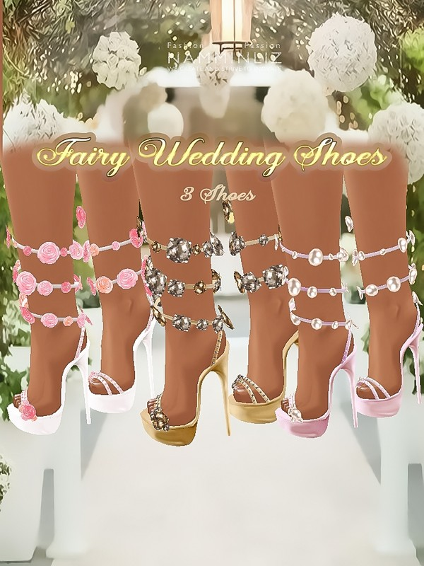 Fairy Wedding 3 Shoes JPG Textures