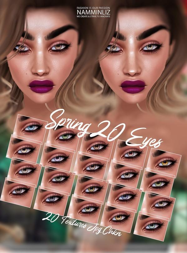 Spring 20 Eyes Textures JPG CHKN