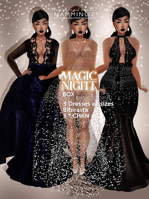Magic Night Box 3 Dresses Texture JPG CHKN all sizes Bibirasta