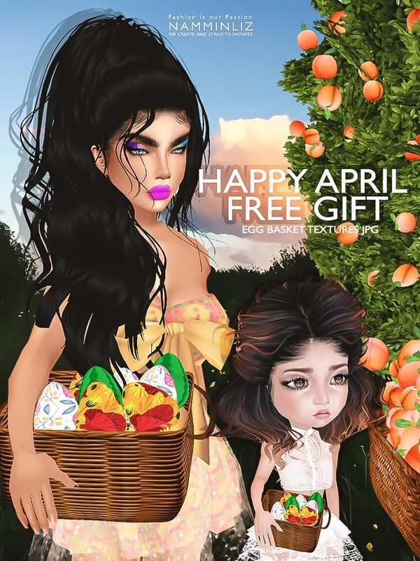 Happy April imvu free gift ♥ JPG Textures CHKN