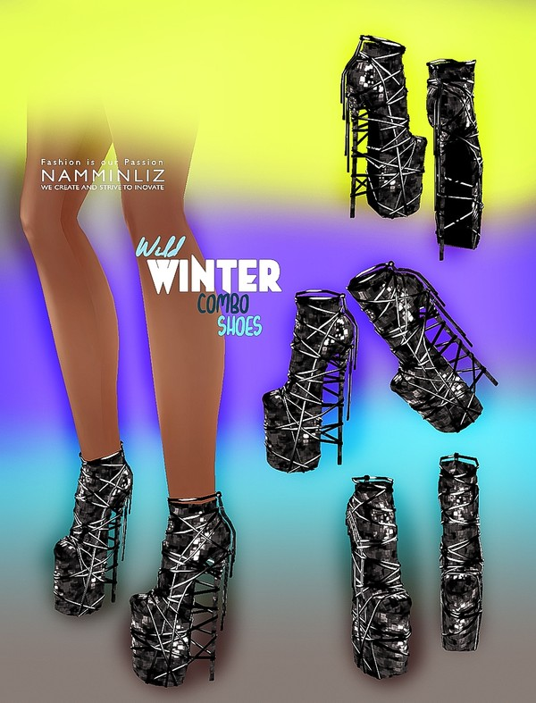 Wild Winter Shoes All sizes  Bibirasta PNG Textures