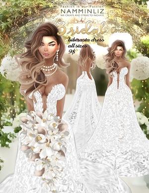 Bridal combo 2 •imvu Bibirasta dress all sizes