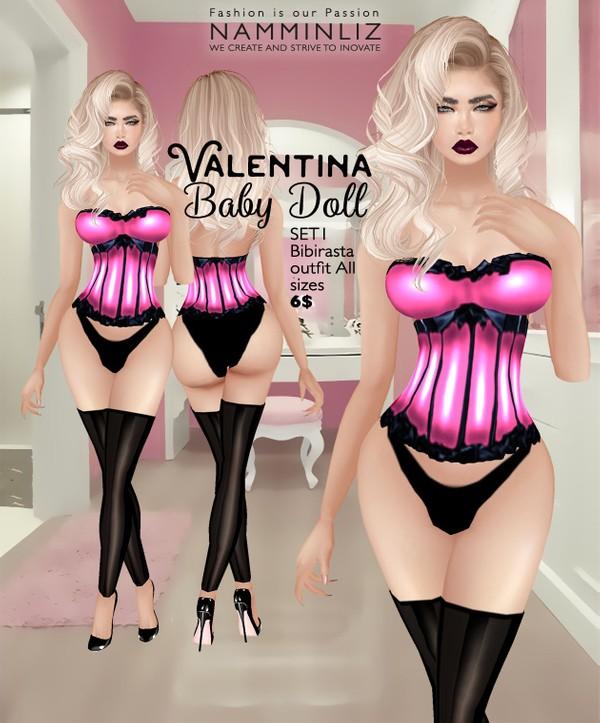 Valentina Baby Doll SET1 imvu Bibirasta