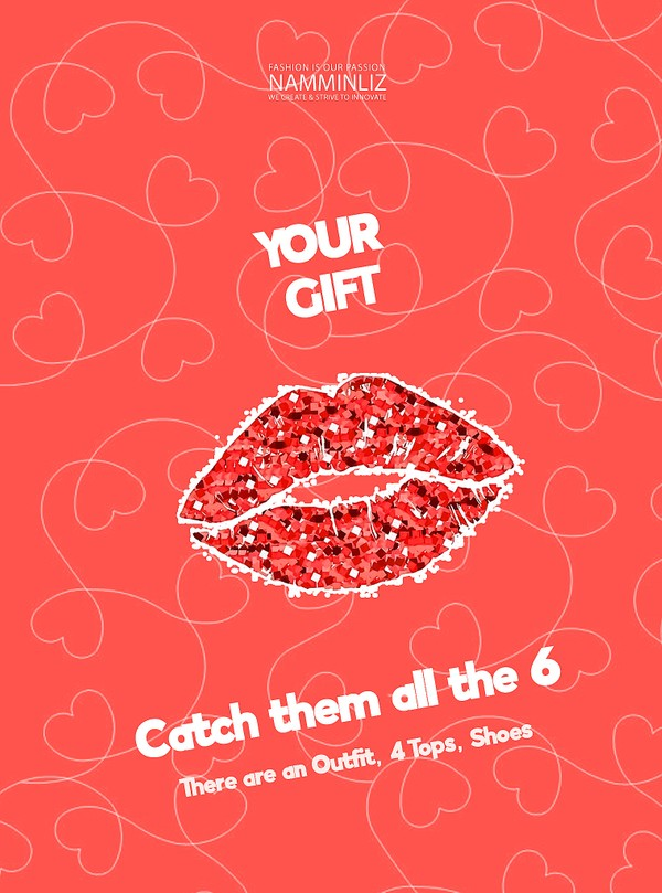 ♥ YOUR GIFT 3 ♥ Catch them all the 6