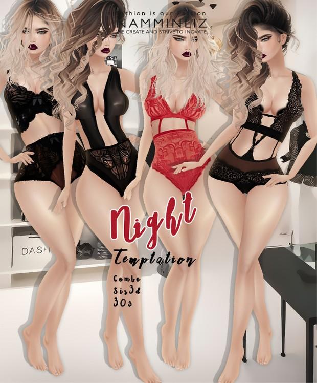 Night Temptation imvu Sis3d outfit full combo