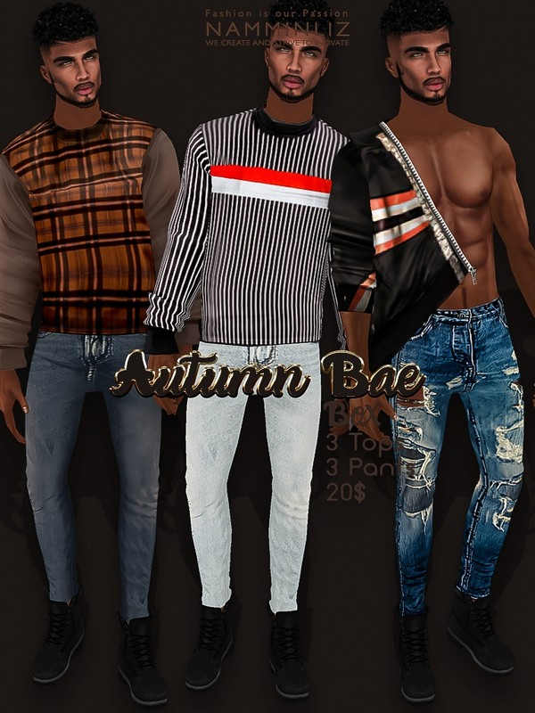 Autumn Bae Box 3 Tops and 3 Pants Texture JPG