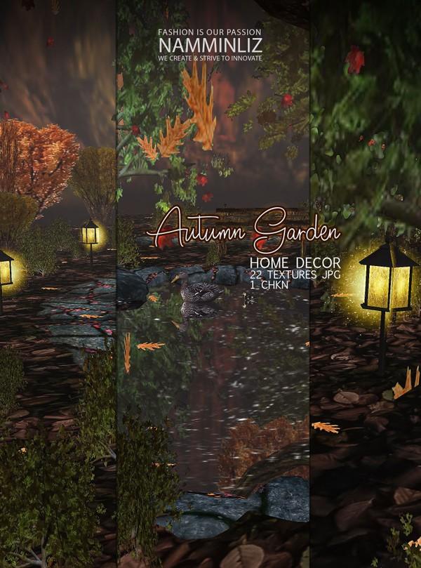 Autumn Garden Home decor 22 Textures JPG 1 CHKN