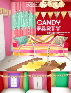 Candy Home decor imvu 30 Textures JPEG NAMMINLIZ