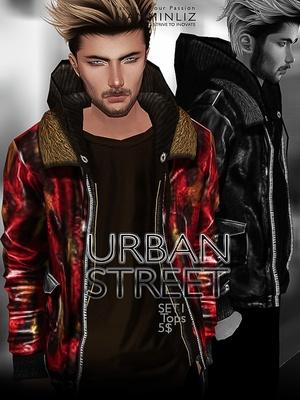 URBAN STREET SET1 imvu JPG texture File sale NAMMINLIZ