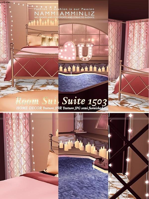 Room Suite 1503 - 18 Textures JPG semi furnished room url imvu