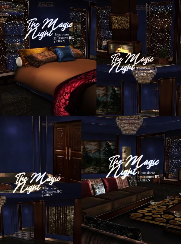 The Magic Night Home decor 33 Textures JPG 4 CHKN