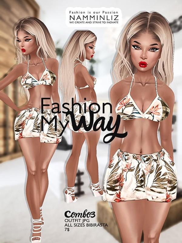 Fashion my way combo 3 ( Outfit Textures JPG All Sizes Bibirasta ) File sale NAMMINLIZ