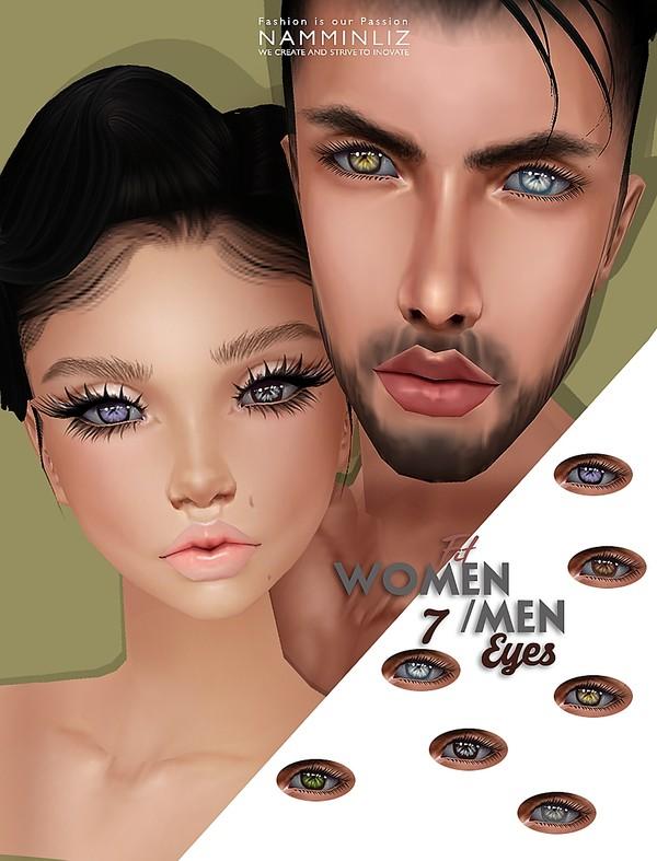 7 Men and Women Fit Man Eyes