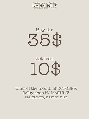 October offer imvu NAMMINLIZ sellfy shop