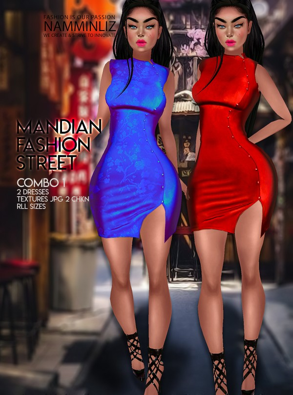 Mandian Fashion Street combo1 Two Dresses Textures JPG 2 CHKN